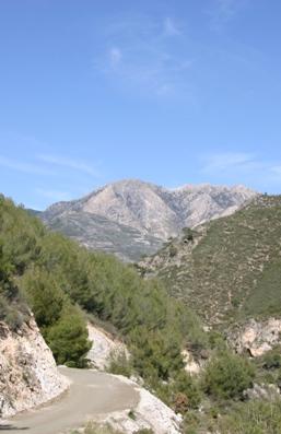 Competa-landscape
